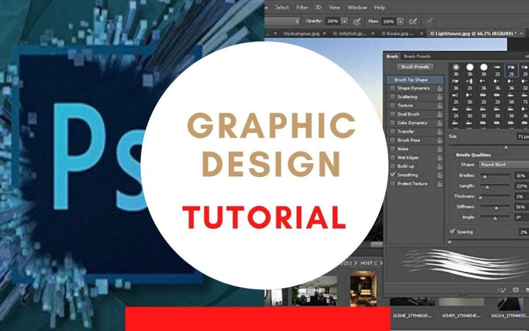 Adobe Photoshop Overview | Graphic Design for Beginners | Codershub-BD