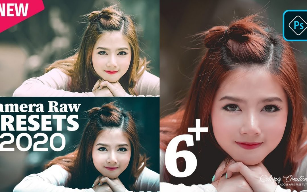 Photoshop Tutorial : Edit Outdoor Portrait Best New Presets। Camera Raw Presets Free Download 2020।