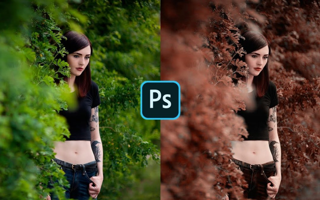 Mobile PhotoShop Tutorial - Chocolate Color Grading Tutorial - Photoshop Cinematic Editing