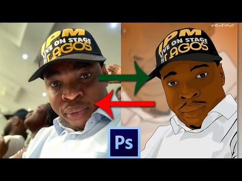 Cartoon your picture in Photoshop with this simple steps - full guide tutorial