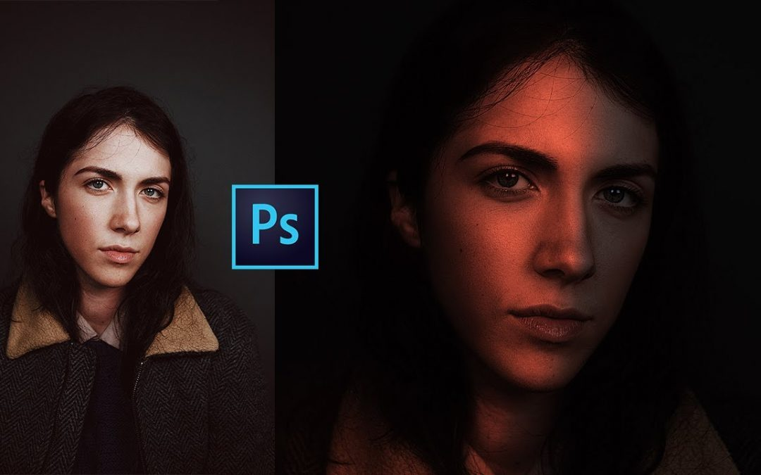 How to make Dramatic Glowing light into your face | Easy Photoshop Tutorial