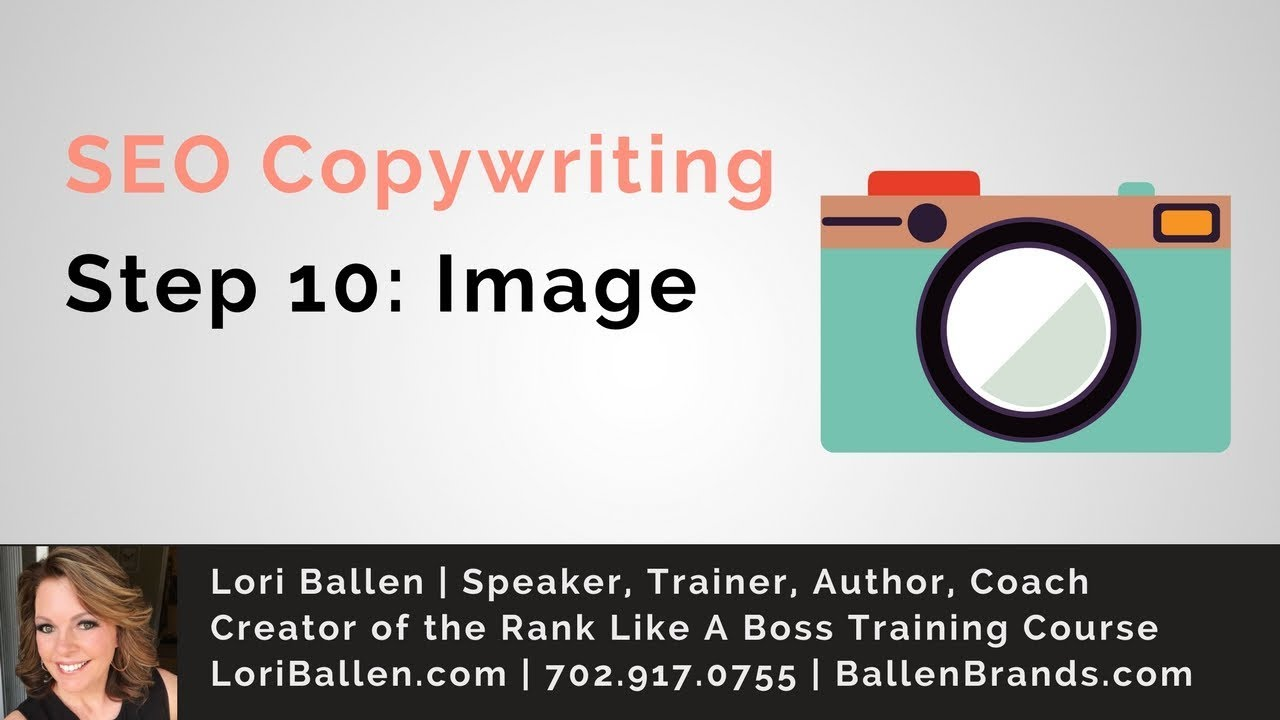 SEO Copywriting Tips | Step 10 | Adding a Featured Image | LoriBallen.com 2018