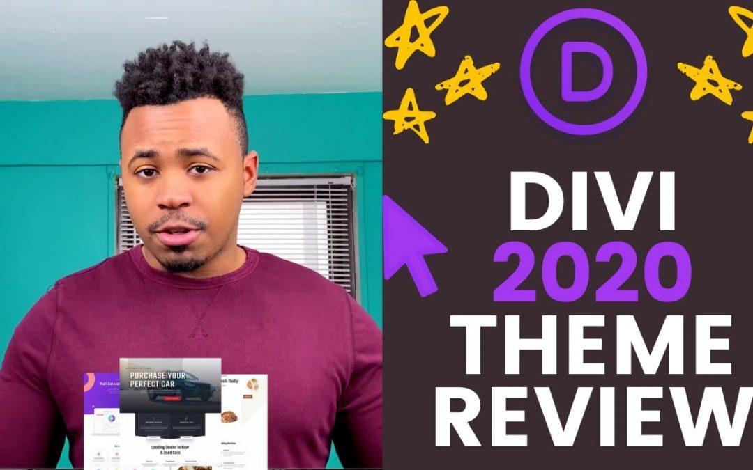 Divi Theme Review 2020   Best WordPress theme & page builder?