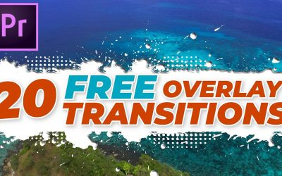 Do It Yourself – Tutorials – 20 FREE Overlay transitions #21-40 + Premiere Pro tutorial