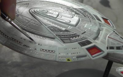 Do It Yourself – Tutorials – AMT : USS-Enterprise NCC-1701-E : 1/2500 Scale Model : Step By Step Video Build : Episode.18