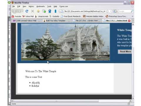 Build Your Own CSS Website For Free Lesson 17