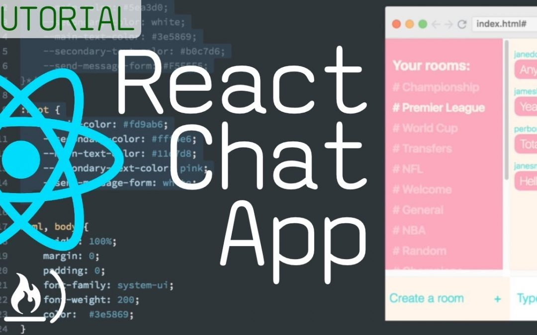 Build a Chat App - React Tutorial Course