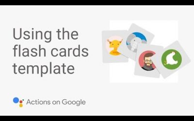 Do It Yourself – Tutorials – Build a Flash Card App for the Google Assistant with No Code – Template Tutorial #1