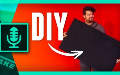 Do It Yourself – Tutorials – DIY SOUND ABSORPTION PANELS for Home Recording Studio | Cinecom.net