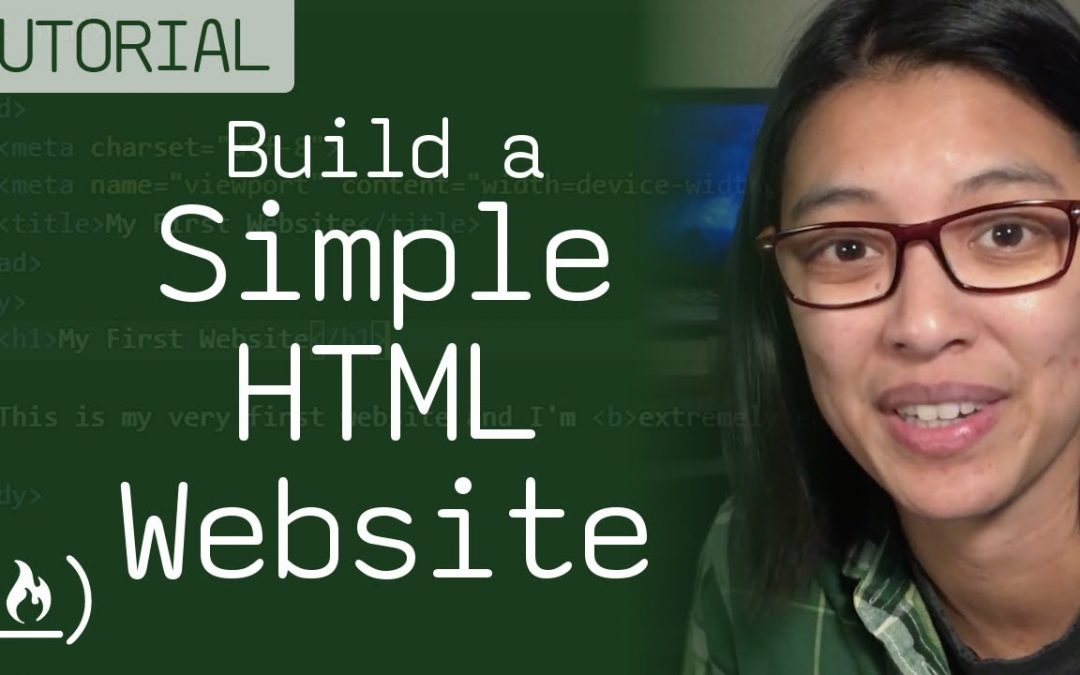 HTML Tutorial - How to Make a Super Simple Website