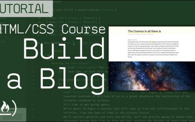 Do It Yourself – Tutorials – HTML/CSS Tutorial – Build a Beautiful Blog