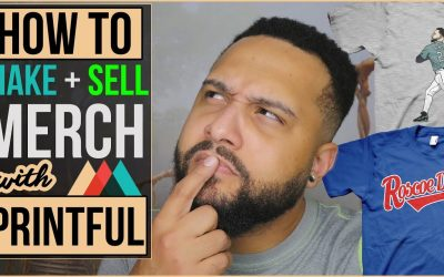 Do It Yourself – Tutorials – How To Sell & Design Your Own T-Shirts & Merchandise Online (Printful Review 2019)