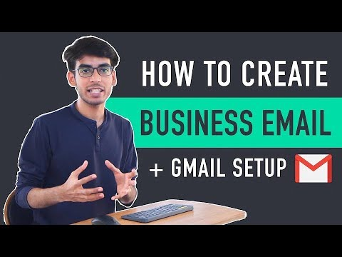 How to Create Business Email & Use it with Gmail for Free