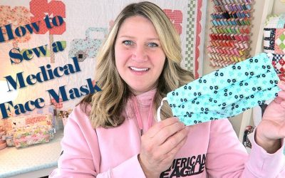 Do It Yourself – Tutorials – How to SEW a Medical FACE MASK // TUTORIAL