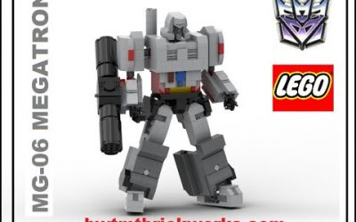 Do It Yourself – Tutorials – Lego Transformers MG-06 Megatron Returns by BWTMT Brickworks