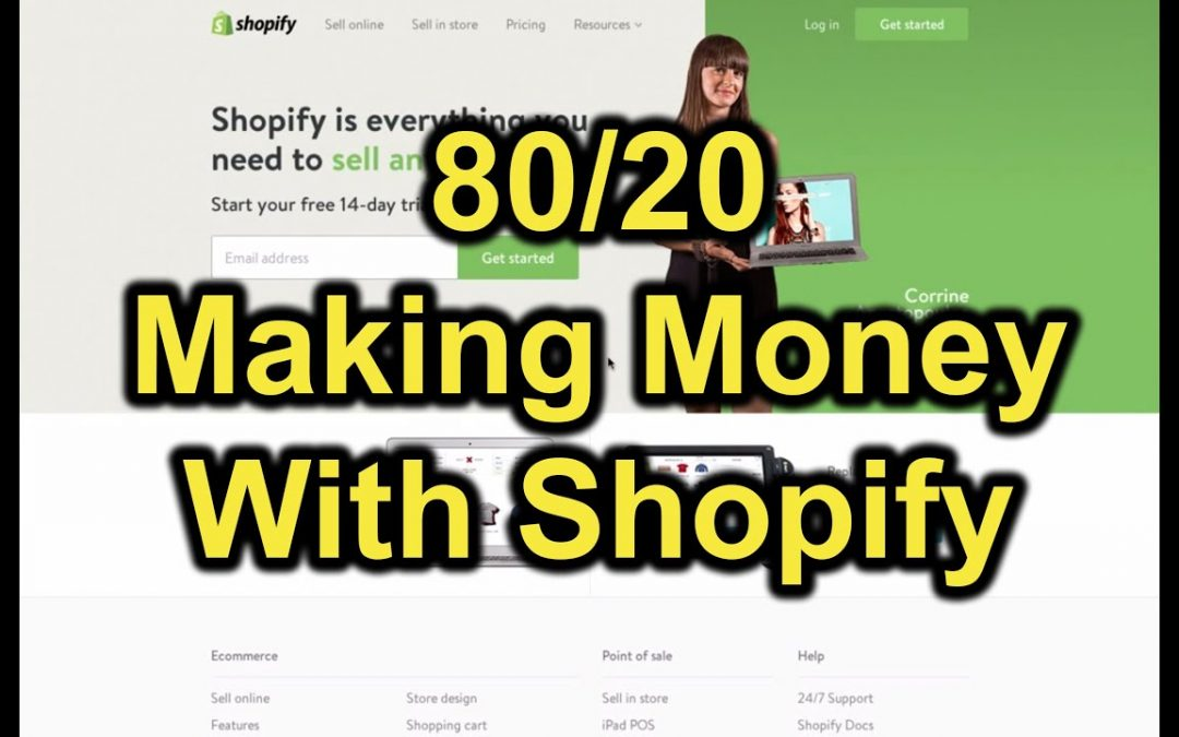 Setting up Shopify Store   How To Build Your Own Ecommerce Site & Online Store with Shopify (80/20)