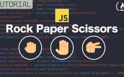 Do It Yourself – Tutorials – Web Development Tutorial – JavaScript,  HTML, CSS – Rock Paper Scissors Game