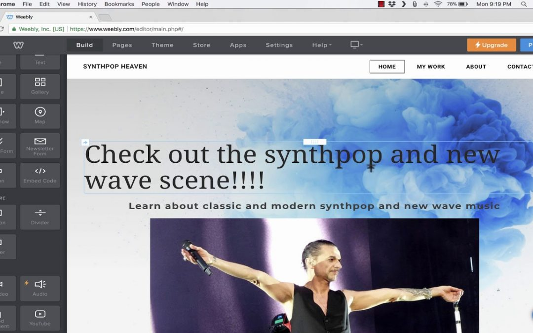 Weebly Tutorial - Build Your Own Free Website
