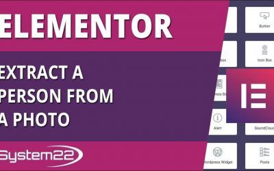 Elementor WordPress Plugin Extract A Person From A Photo