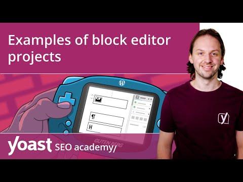 Examples of WordPress block editor projects   Block editor training