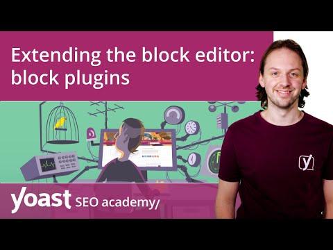 Extending the WordPress block editor: block plugins | Block editor training