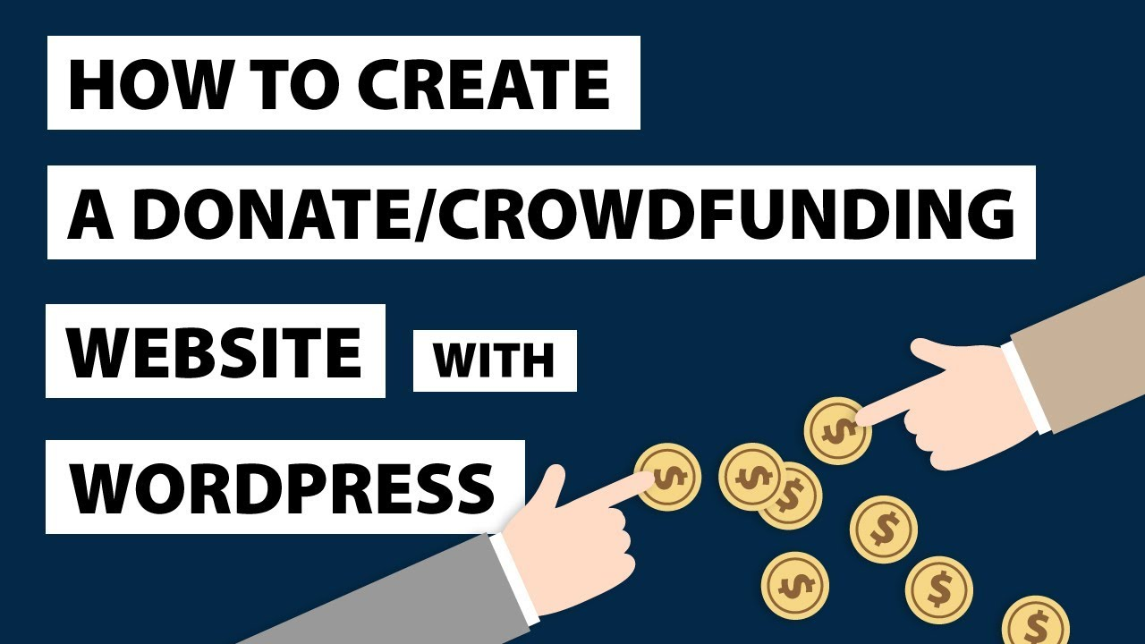 How To Create A Donation Website Like GOFUNDME - Crowdfunding Plugin For Wordpress
