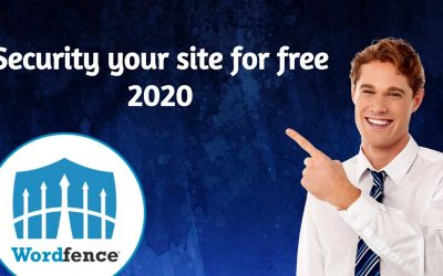 How To Protect Your Site For Free WordFence Security Plugin Using 2020
