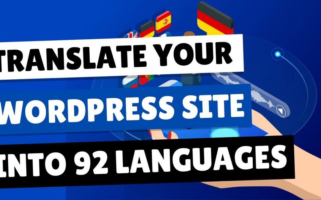 How To Translate Your WordPress Website For Free | Conveythis Review