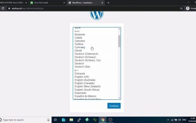 How to Install WordPress using INANMS Web Hosting Control Panel