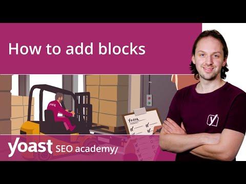 How to add blocks in the WordPress block editor   Block editor training