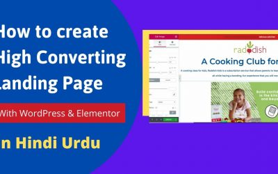 How to create High converting Landing Page with WordPress For Free ! Affiliate Marketing.