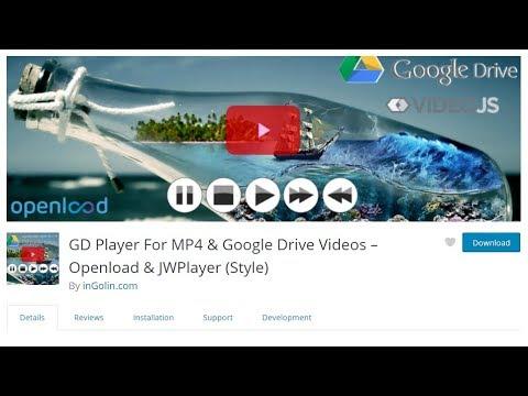JW Player Google Drive Videos with  Subtitles - WordPress Plugin 100% Free