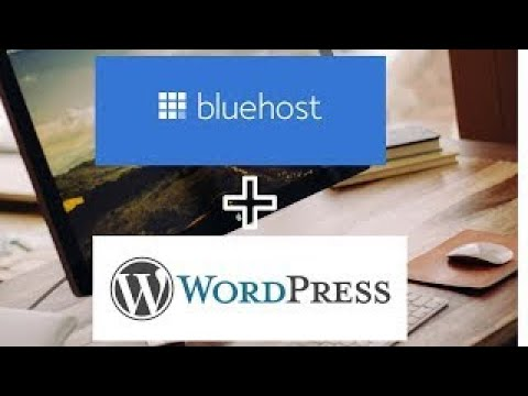 Review   hosting   Launching a WordPress Website with Bluehost 2020