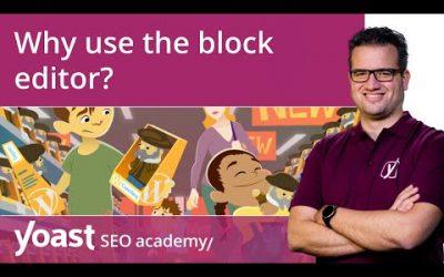 Why use the WordPress block editor? | Block editor training