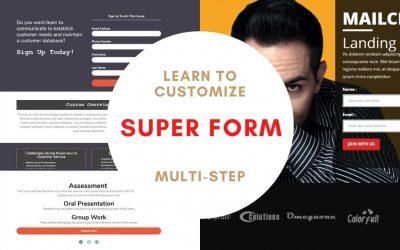 WordPress Form ( Multi-step ) with Super Form | Best WordPress Form | Codershub-BD