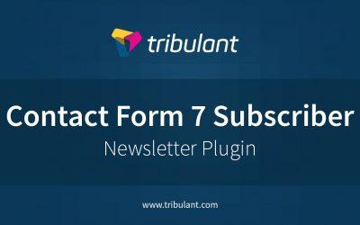 WordPress Newsletter plugin – Contact Form 7 subscribers