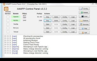 WordPress For Beginners – Apache MYSQL Auto Start. How start xampp server auto.