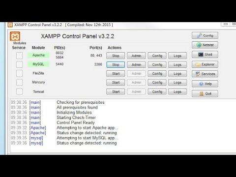 Apache MYSQL Auto Start. How start xampp server auto.