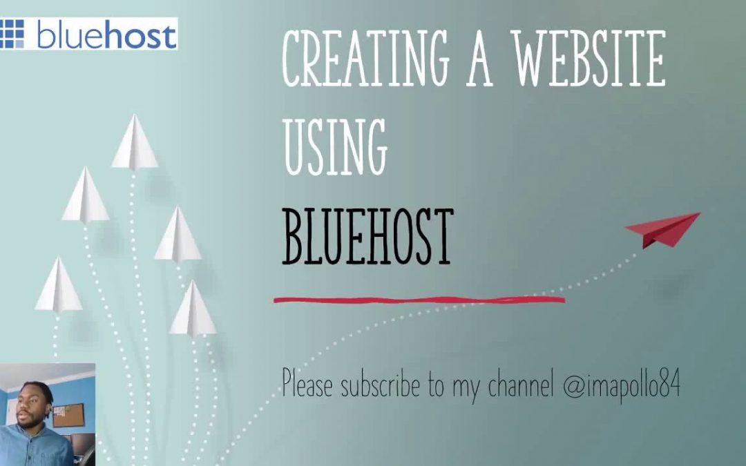 Bluehost Tutorial