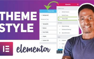 WordPress For Beginners – ELEMENTOR THEME STYLE TUTORIAL: How To Style A WordPress Website Using Elementor Theme Style