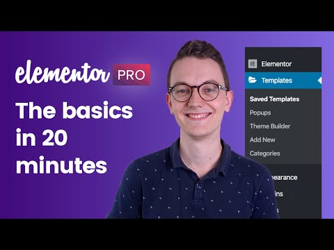 Elementor Pro Wordpress Tutorial - The basics in 20 minutes