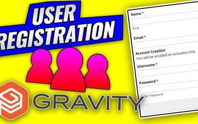 WordPress For Beginners – Gravity Forms User Registration with WordPress Tutorial