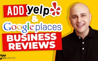 WordPress For Beginners – How To Add Yelp & Google Business Reviews To Your WordPress Websites
