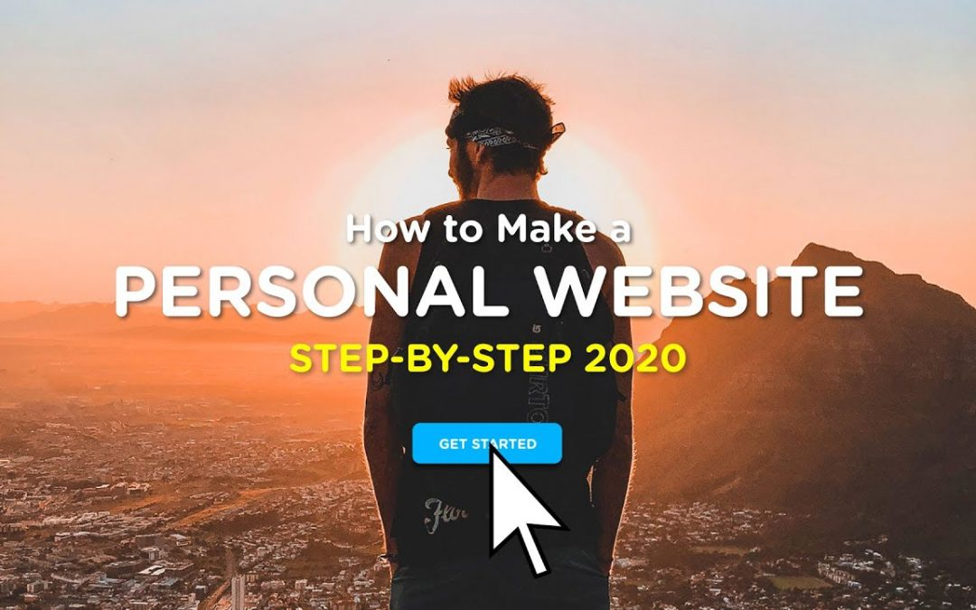 How to Create a Personal / Portfolio Website   2020 Step-By-Step Guide!