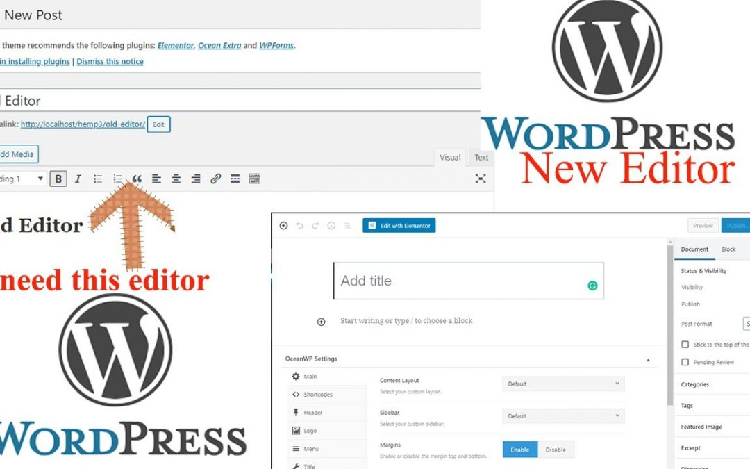 How to Get Old Blog Post Editor in Wordpress | Free Learning | Wordpress Tutorials