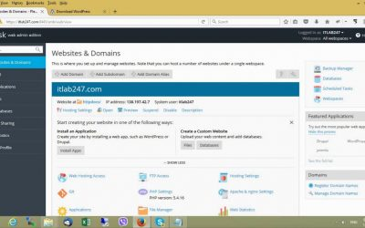WordPress For Beginners – How to Install WordPress on Plesk (tutorial for beginners)