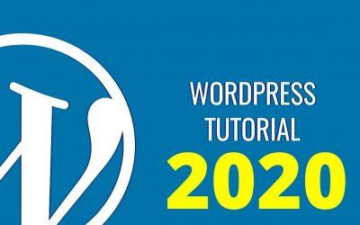 WordPress For Beginners – WORDPRESS EASY TUTORIAL FOR  BEGINNERS 2020 (FREE GUIDE)