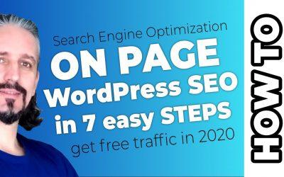 WordPress For Beginners – WordPress SEO Tutorial: Keyword Research Based Content Marketing 2020