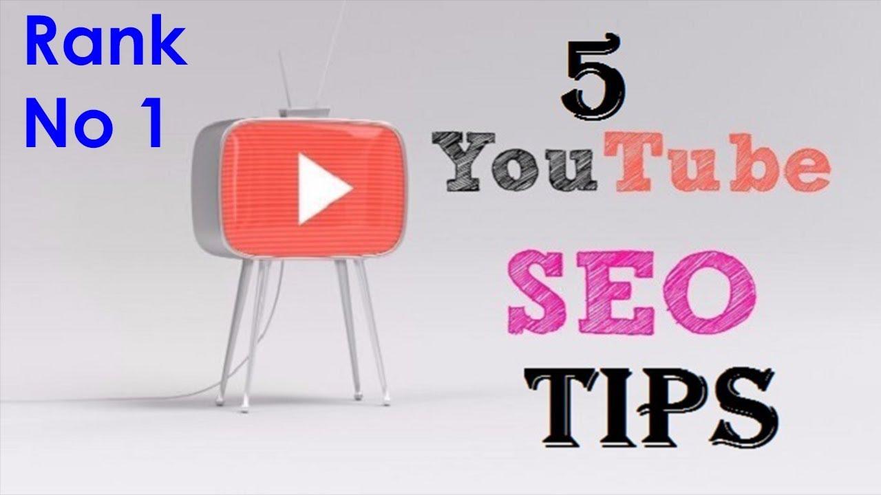5 Youtube SEO Tips | Increase Views & Rank Higher on Youtube