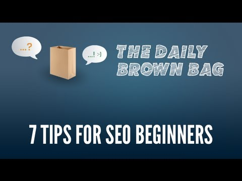 7 Tips for SEO Beginners